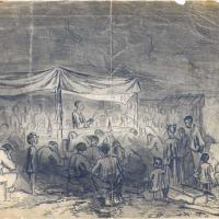 Evening Prayer Meeting at City Point during the Siege of Petersburg
